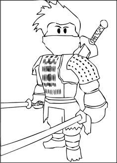 a free printable roblox ninja coloring page coloring pages for boys printable coloring pages