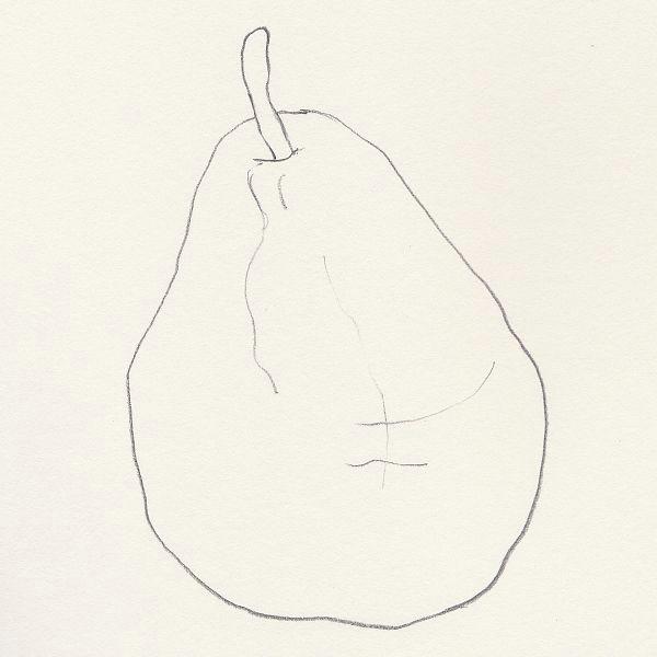a simple contour sketch