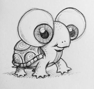 99 wahnsinnig schlau einfach und cool zeichnungsideen die man jetzt verfolgen sollte 16 turtle