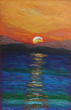 oil pastel paintings i think they could do it with step by step directions oil
