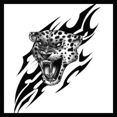 how to draw a jaguar tribal elephant elephant head jaguar tattoo tattoo drawings