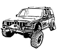 image result for jeep white eagle xj