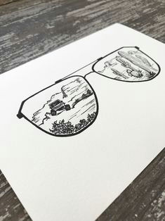 jeep drawings a excited to share the latest addition to my etsy shop arizona sunglasses art sketch