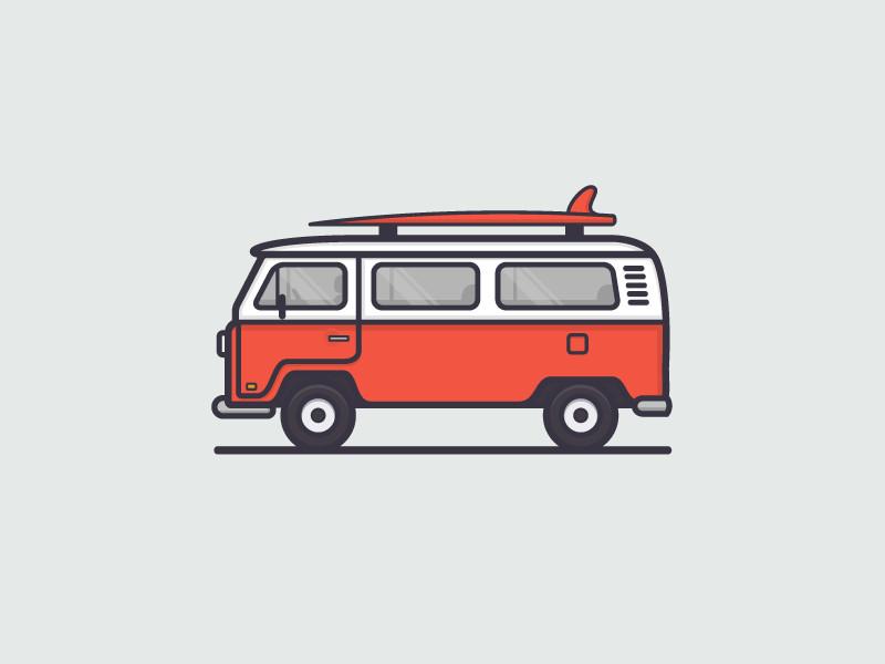 vw bus van drawing volkswagen bus simple car drawing vw tattoo surf