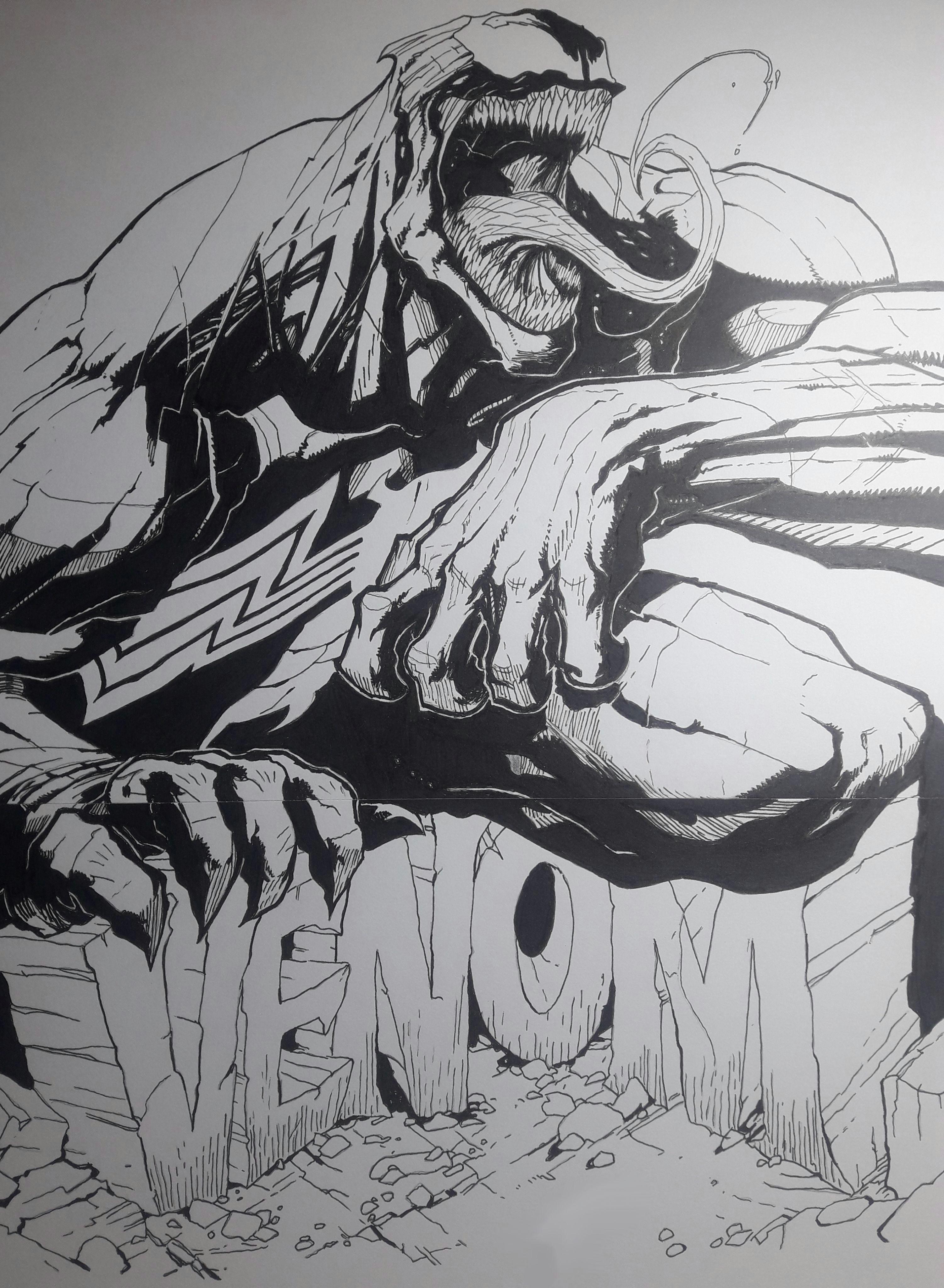 drawing venom v