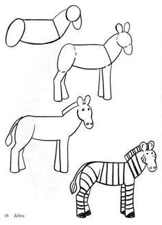 zebra easy drawings doodle drawings animal drawings drawing sketches colorful drawings