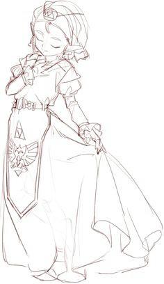 embedded image twilight princess princess zelda zelda drawing nintendo the legend of