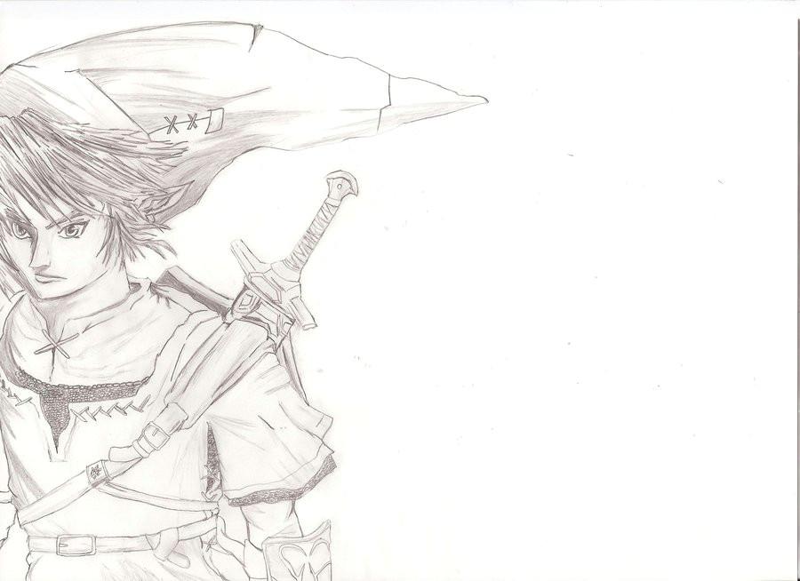 link twilight princess drawings easy 23357 movieweb
