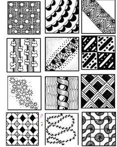 zentangle pattern sheets