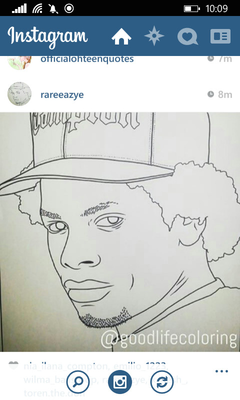 eazy e drawing bonitanapple