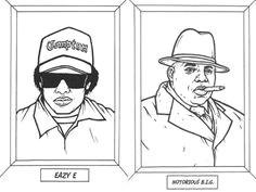 gangsta rap coloring book take a look it s in a book