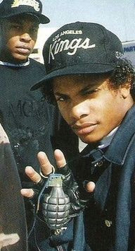 eazy e and dr dre of nwa compton gangster gangster rap rap music