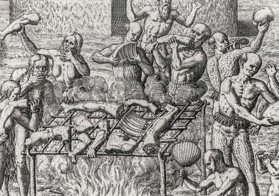 even cannibals observed manners and etiquette when eating human flesh