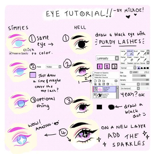 anime eye tutorial tumblr