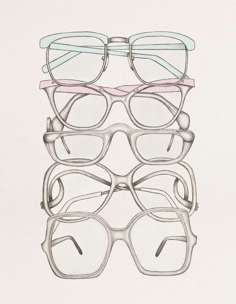 Eyeglasses Drawing Women Sunglasses 9 On Healthy Food Illustration Art Glasses