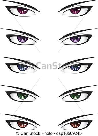 anime male eyes csp16569245