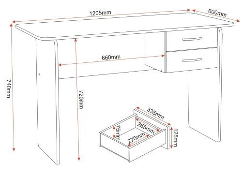 furniture trade desk lovely mengs pan 0d aluminum dovetail mount desk depth