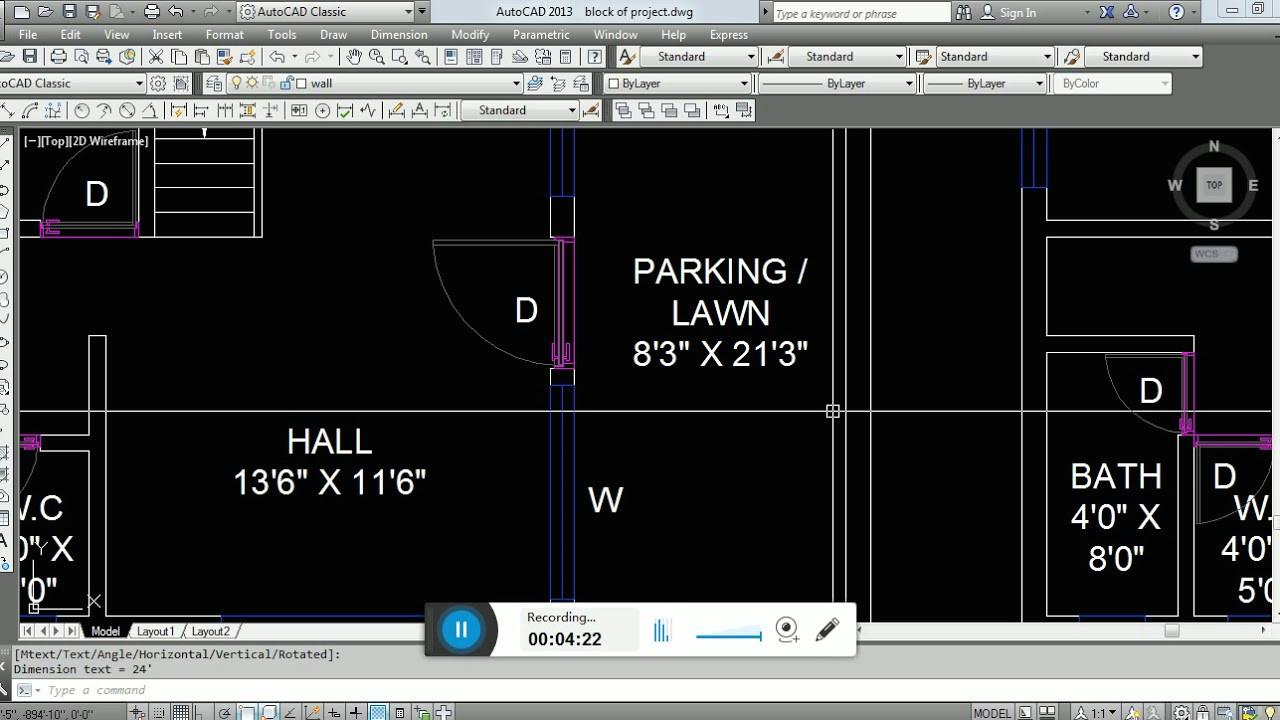 how to design bungalow floor plan in 33 x 22 plot size