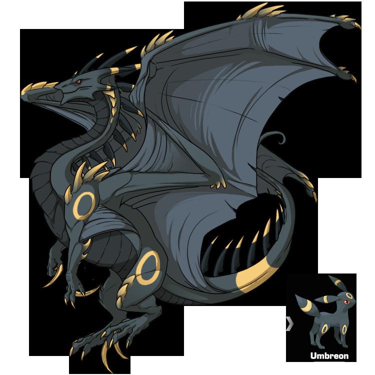 Flight Rising Drawing Dragons Flight Rising F Ridgeback Umbreon Skin by Shadow Blood Dragon