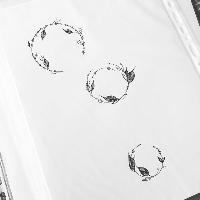 some feminine circles they are available for sale small prices send me a personal logo exploration pinterest tattoos circle tattoos and tattoo