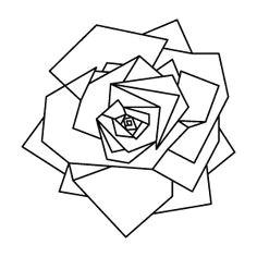 geometric rose tattoo geometric tattoo animal geometric tattoo design geometric designs geometric shapes