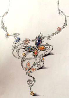 collier creation jewelry art gold jewelry jewelry necklaces fine jewelry jewelery