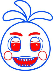 how to draw toy chica from five nights at freddys 2 13th birthday parties 11th