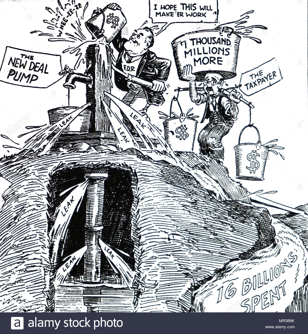cartoon depicting roosevelt tinkering with the united states currency franklin d roosevelt 1882