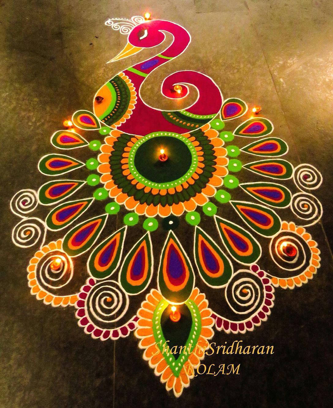 rangoli designs peacock beautiful rangoli designs indian rangoli designs