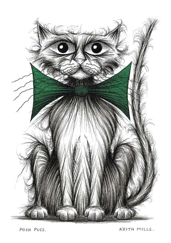 posh puss print download on etsy 5 16 funny animal pictures funny animals cute