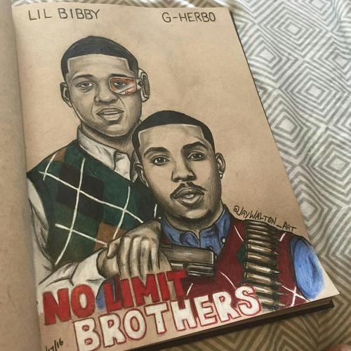 G Herbo Drawing Lilbibby Gherbo Shared by Ariel On We Heart It