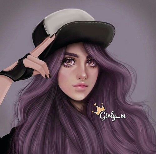 girly m drawing and art bild
