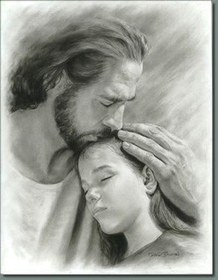 it s so wonderful to know i have my father s love he gives me true peace something the world cannot truly offer for long jesus drawing pencil