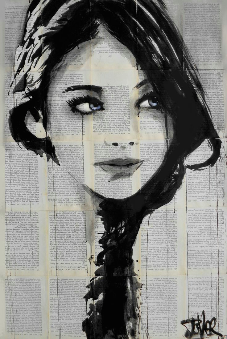 baby blue drawing by loui jover