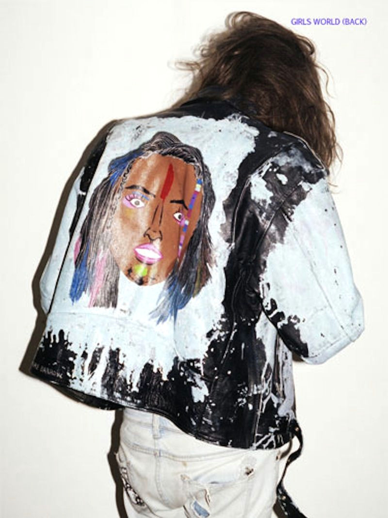 outsapop trashion diy fashion by outi pyy bad ass painted leather jackets