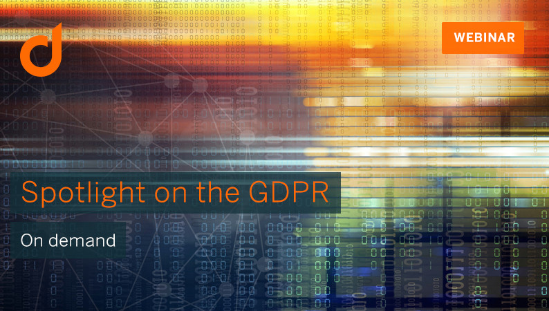 are you ready for the new general data protection regulation gdpr watch the free webinar to gain insight in some practical implementation steps with