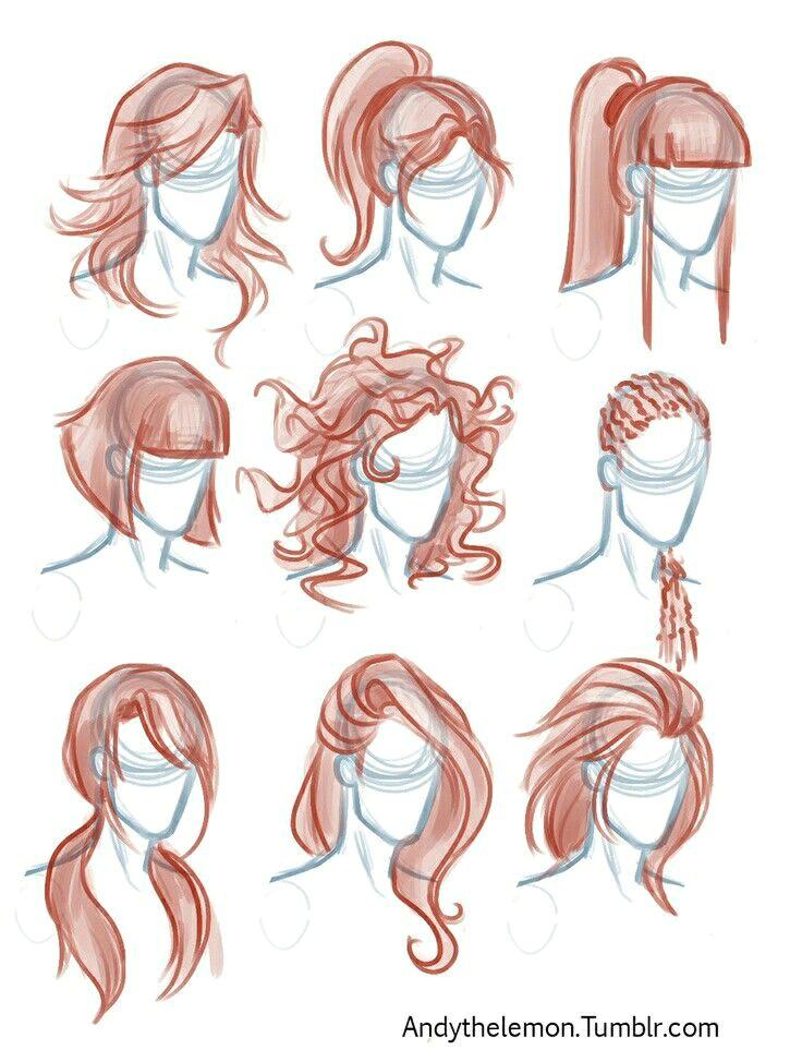 wa osy drawing sketches drawing tips hair styles drawing drawing hair tutorial drawing