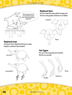 you can draw cartoon animals a simple step by step drawing guide just for kids
