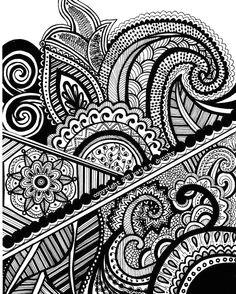 henna mehndi drawing 8x10 print original design by viewfromtheedge 12 00 mehndi drawing henna drawings