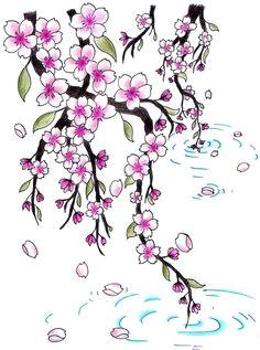 cherry blossoms for jen by jen van deviantart com on deviantart flower