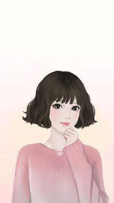 I M Drawing In Korean Korean Girls Art