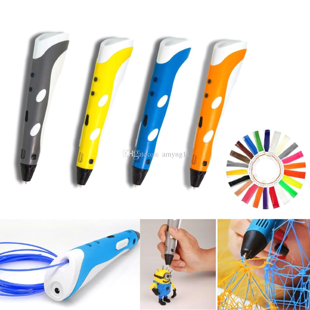 2019 3d printing pen 3d drawing pen with 3 free filament samples adjustable arts printer 3d pen kit for kids birthday christmas gift from amyng11