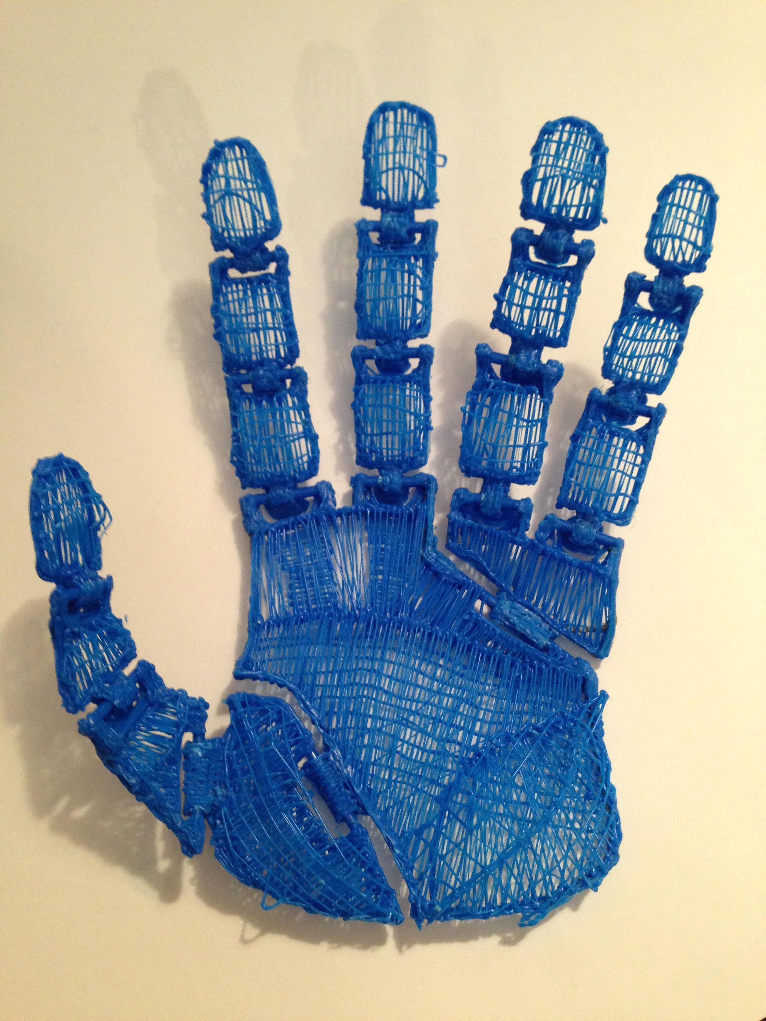 3doodled hand with joints pen design pen art 3d drawing pen 3d drawings