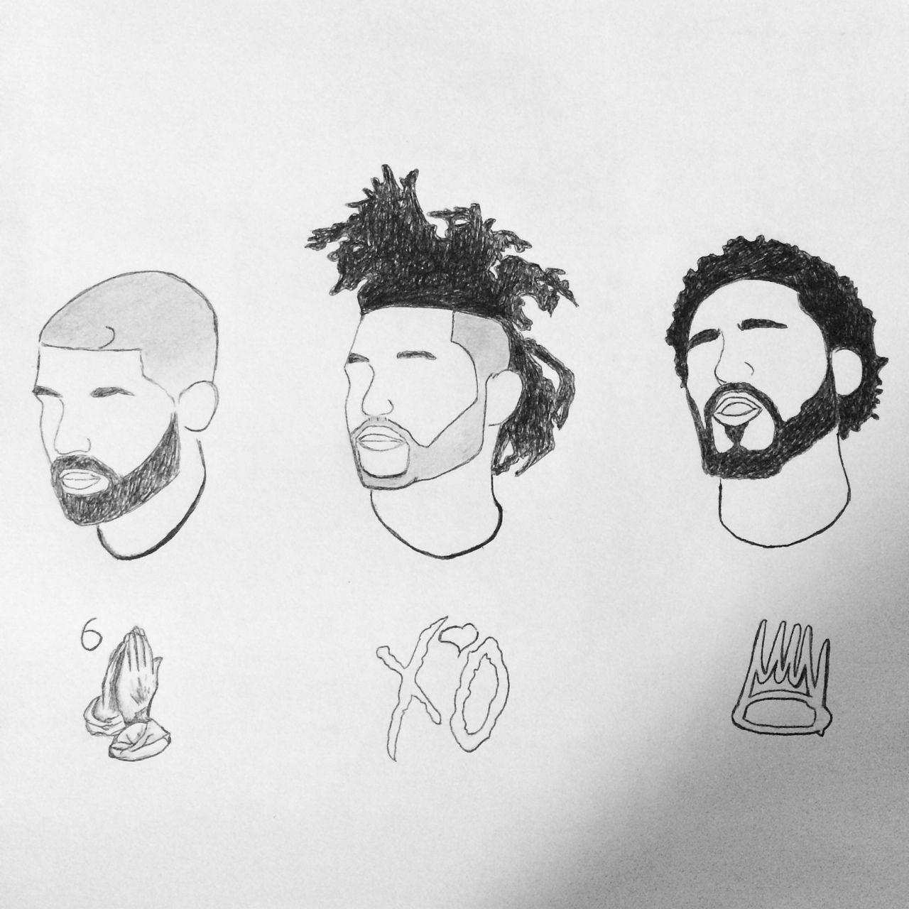 J Cole Cartoon Drawing Pin by Rewina Afewerki On Masterpiece Drake Art J Cole