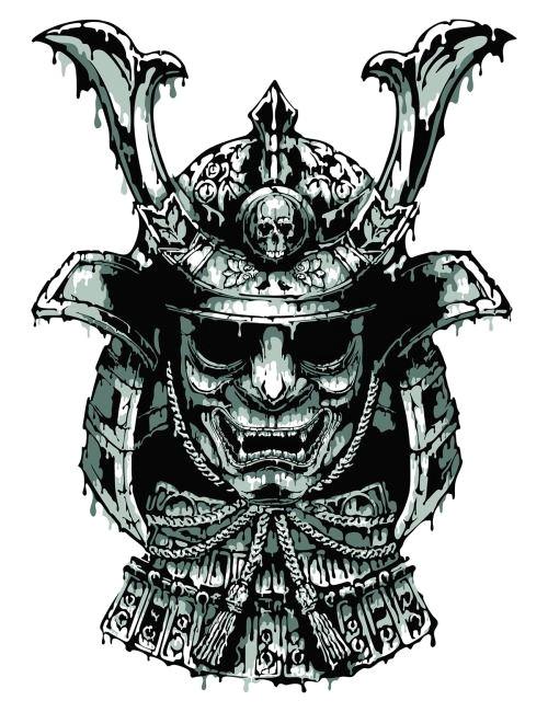 yakuzda samurai art design reference behance japan tattoos beer 101