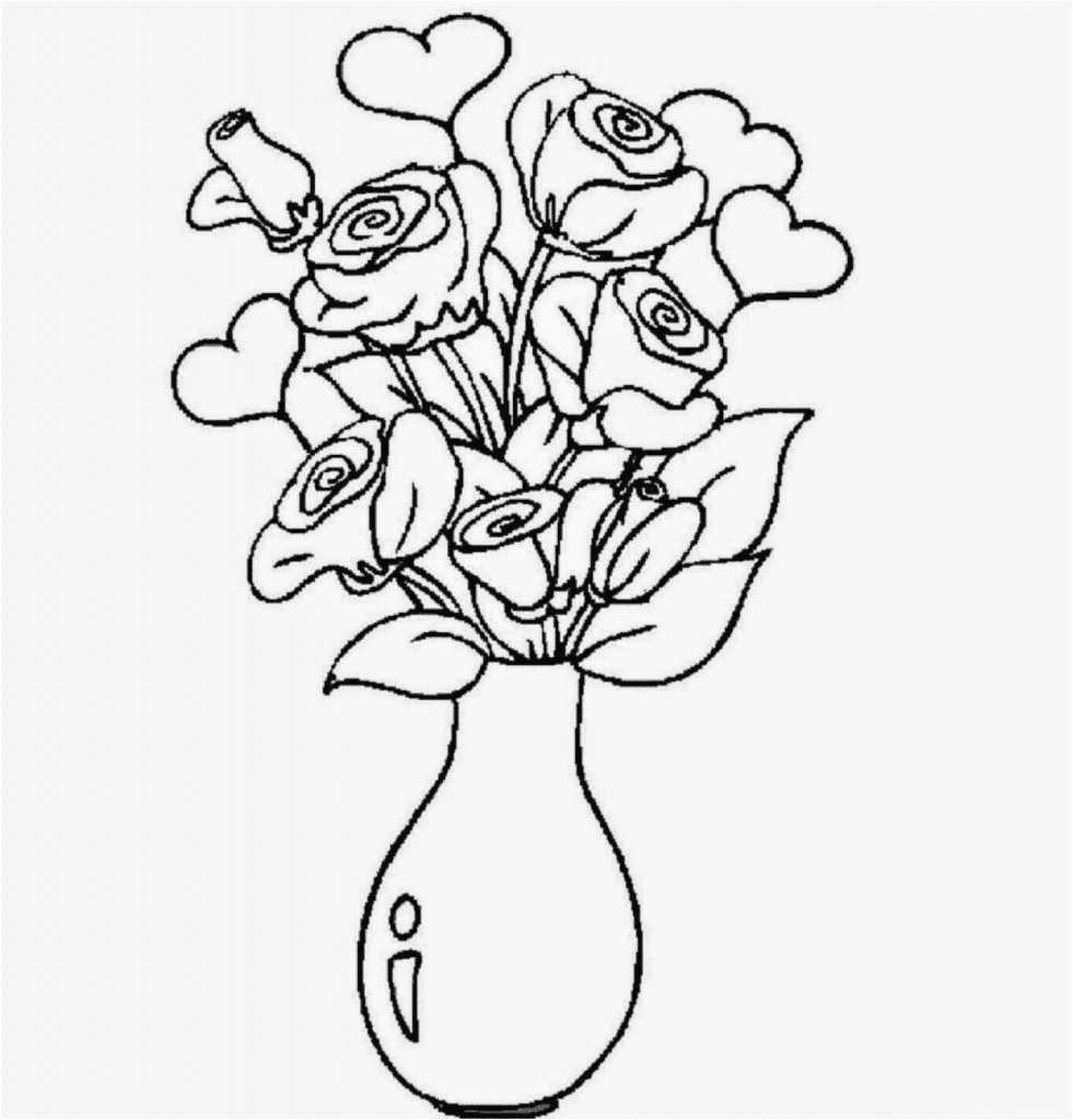 flower sketch exles best flower vase drawing and colouring flowers in a vase drawing photo