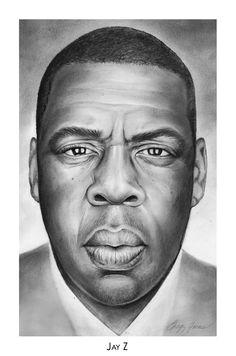 jay z celebrity drawings celebrity portraits male portraits charcoal art pencil portrait