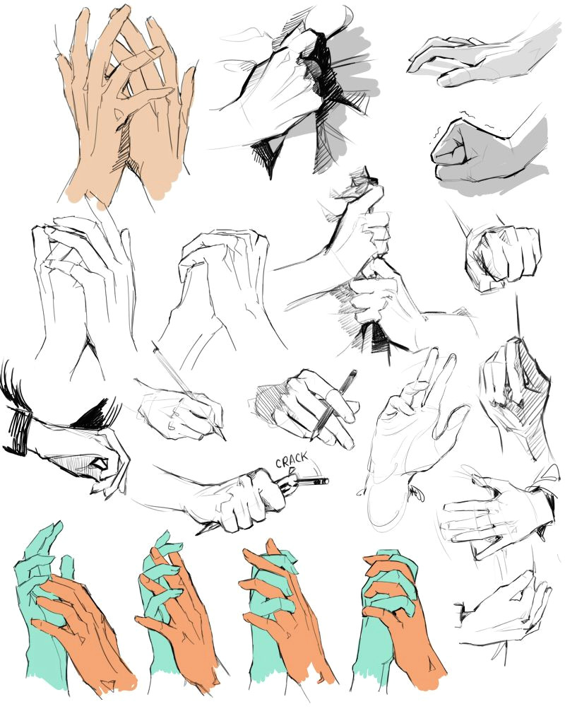 65 wat draws hands when i m sad