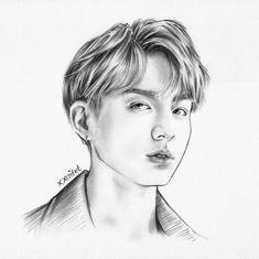 jungkook dna drawing graphite drawing sketch scanned version dna drawing drawing sketches drawing