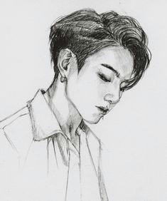 bts fanart jk bts jungkook namjoon taehyung kpop drawings bts edits